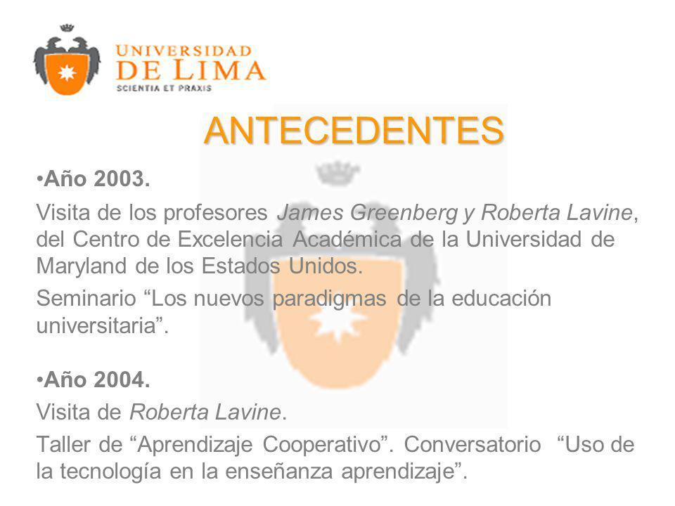 Año 2003.