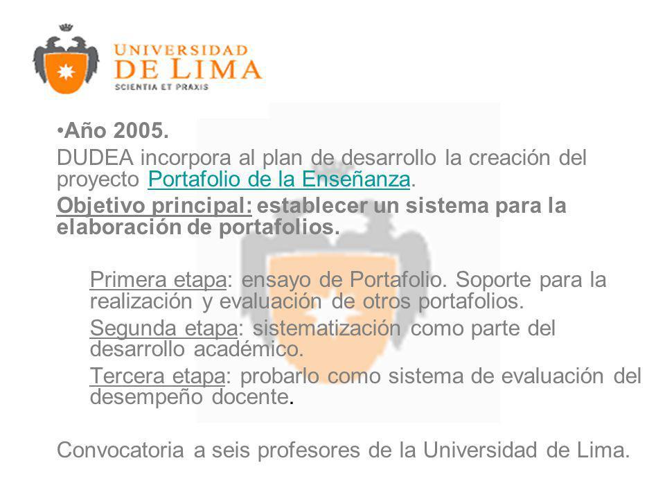 Año 2005.