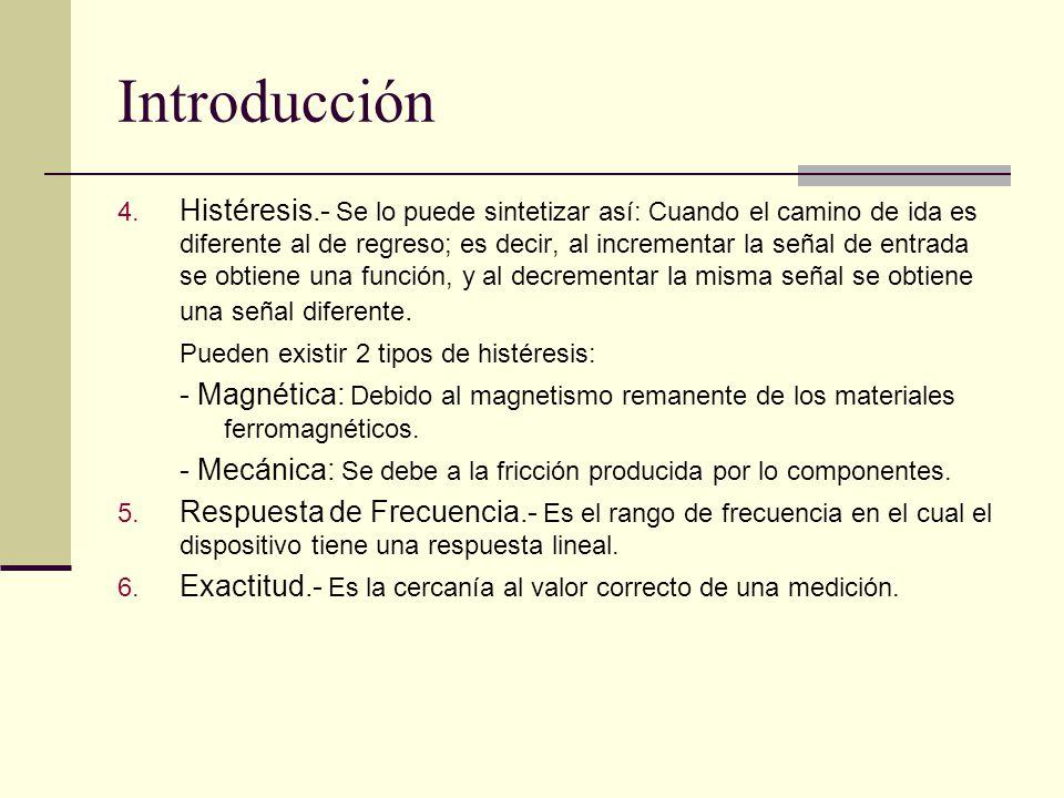 Introducción 7.Precisión.- Es el grado de reproducibilidad de una medición.