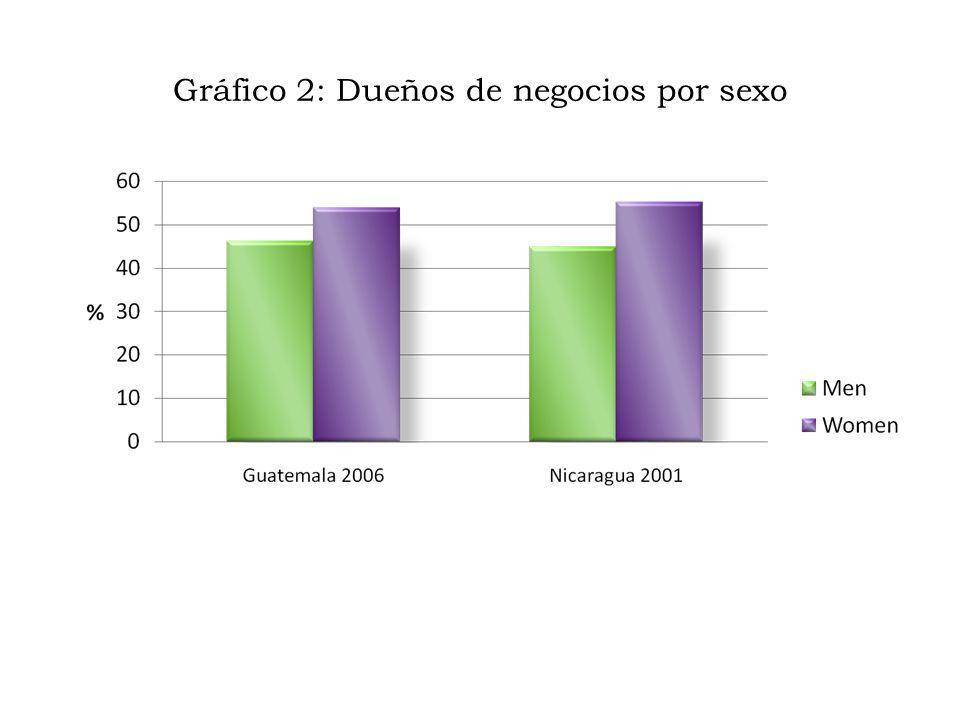 Gráfico 3: ¿Quién en el hogar es el dueño de los animales?, Nicaragua 2001
