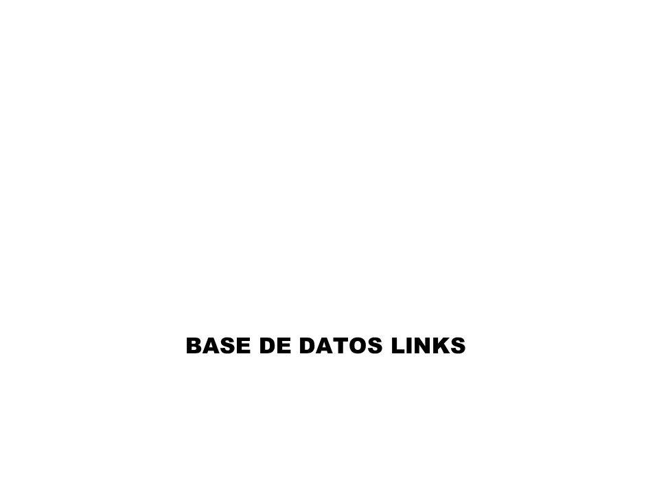 BASE DE DATOS LINKS