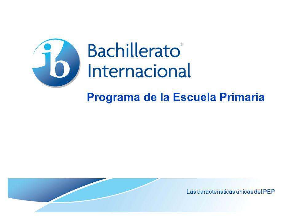 © Organización del Bachillerato Internacional, 2007 Temas: ¿Cuáles son los temas transdisciplinarios del PEP.