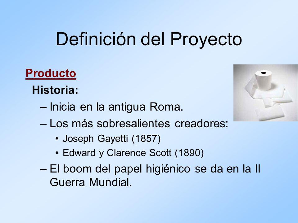 Producto Historia: –Inicia en la antigua Roma. –Los más sobresalientes creadores: Joseph Gayetti (1857) Edward y Clarence Scott (1890) –El boom del pa