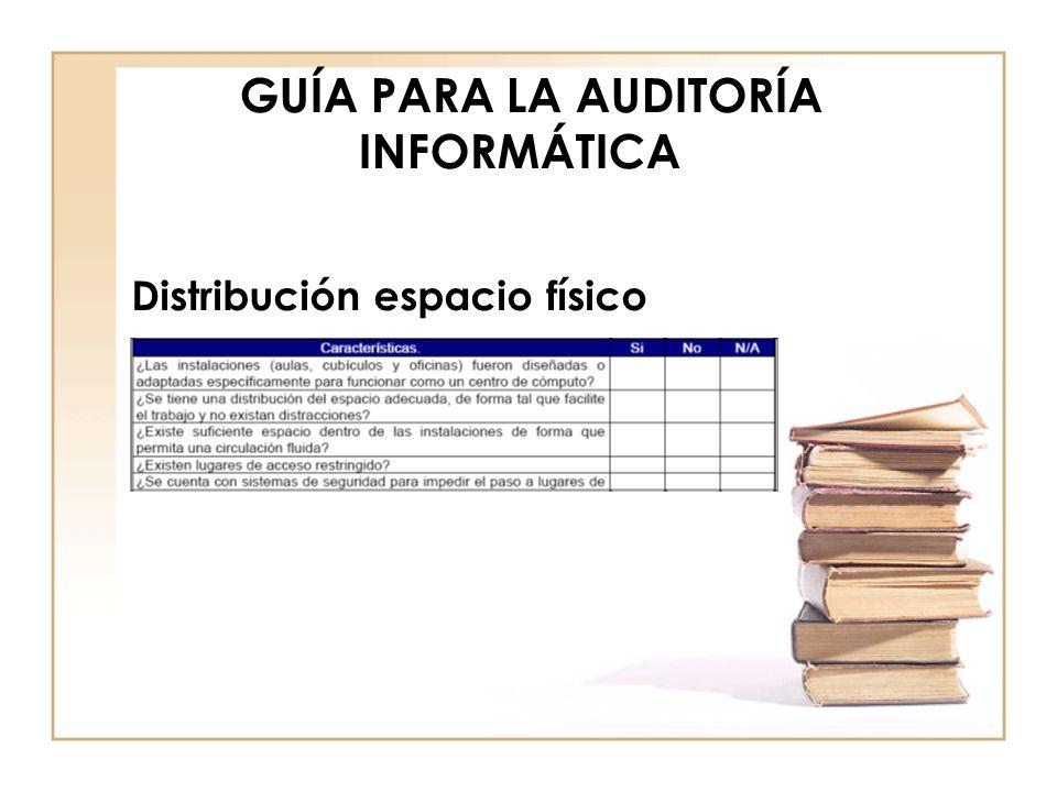 GUÍA PARA LA AUDITORÍA INFORMÁTICA Redes