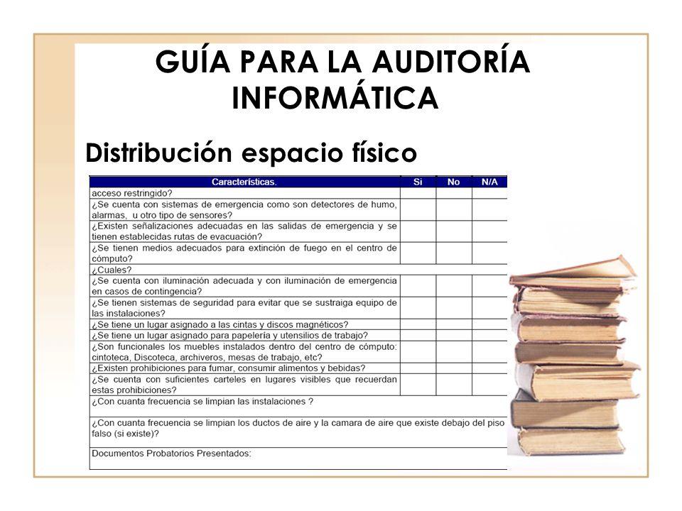 GUÍA PARA LA AUDITORÍA INFORMÁTICA Control Ambiental