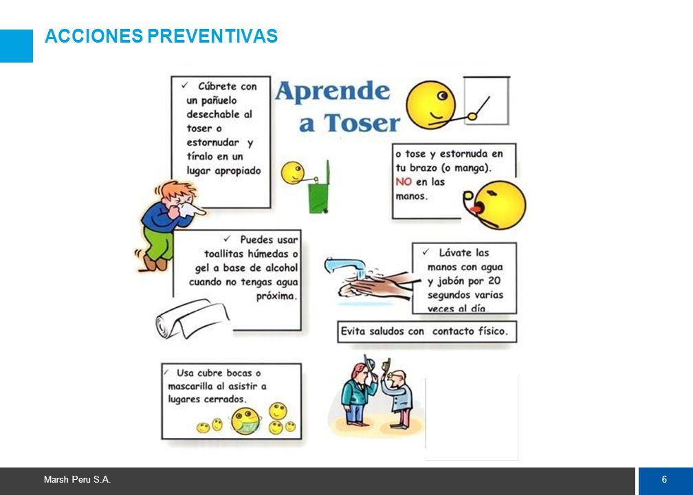 6 Marsh Peru S.A. ACCIONES PREVENTIVAS