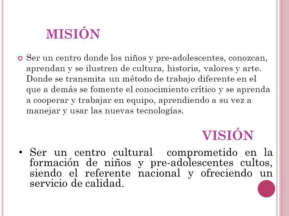 ESTRUCTURA ORGANIZACIONAL Nombre CONSENTIDOS Logo Slogan Más amor. Más cultura