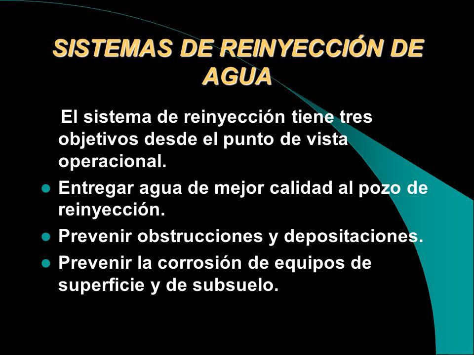 TECNOLOGÍA DEL PROCESAMIENTO DEL AGUA Las aguas de producción son procesadas para remover gases disueltos, partículas suspendidas o aceite disperso. E