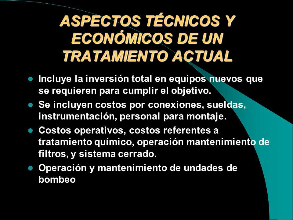 ASPECTOS AMBIENTALES Toda estación de producción dispondran de un sistema de tratamiento resultante de los procesos. Las aguas de producción deberan s