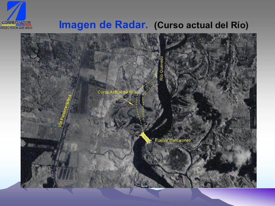 Imagen de Radar. (Curso actual del Río)