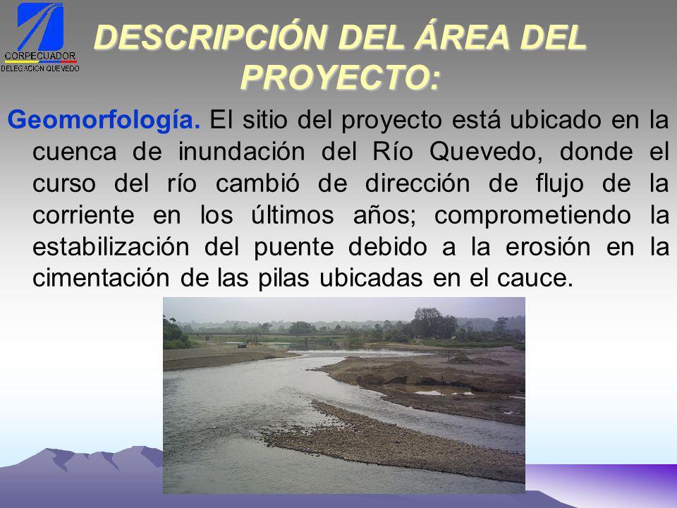 Llanura de inundación.