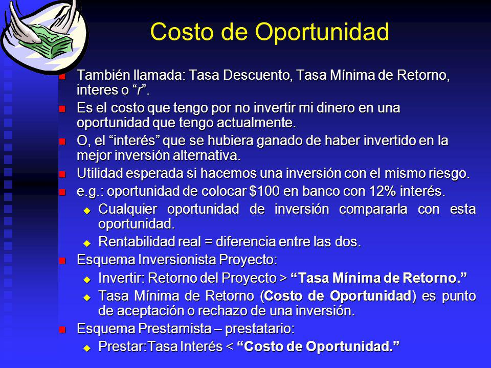 Tasa Nominal y Efectiva Caso especial: Periodo Capitalización Periodo de tasa interés. Caso especial: Periodo Capitalización Periodo de tasa interés.