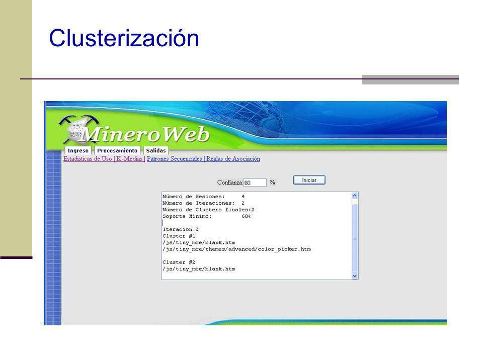 Clusterización