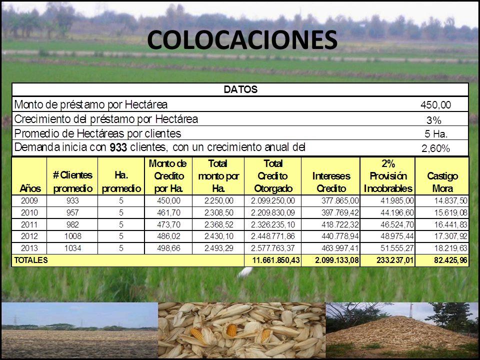 COLOCACIONES 3%