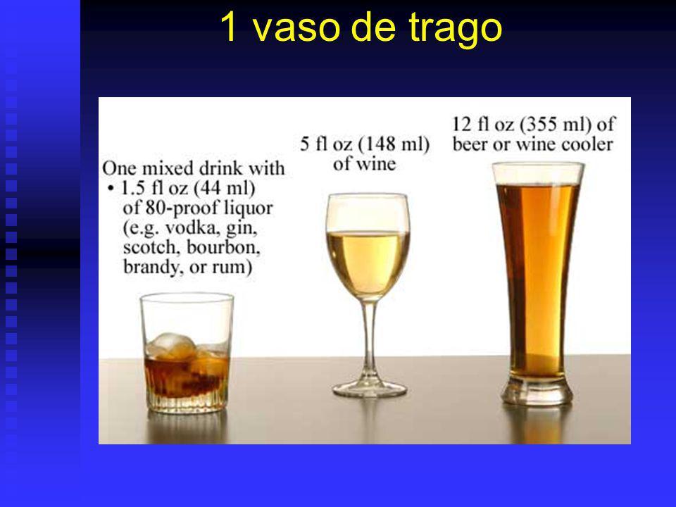 1 vaso de trago