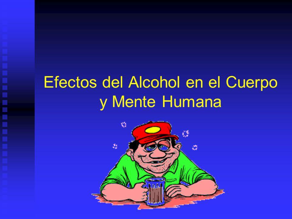 Efectos del Alcohol en el Cuerpo y Mente Humana