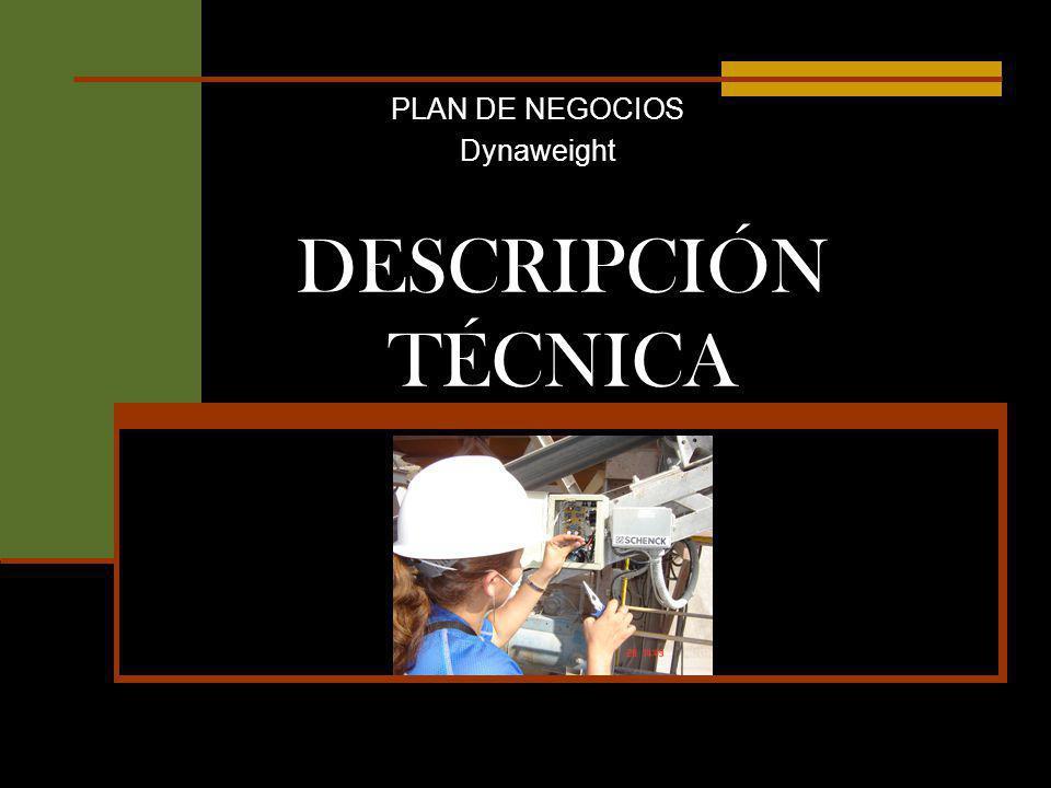 DESCRIPCIÓN TÉCNICA PLAN DE NEGOCIOS Dynaweight