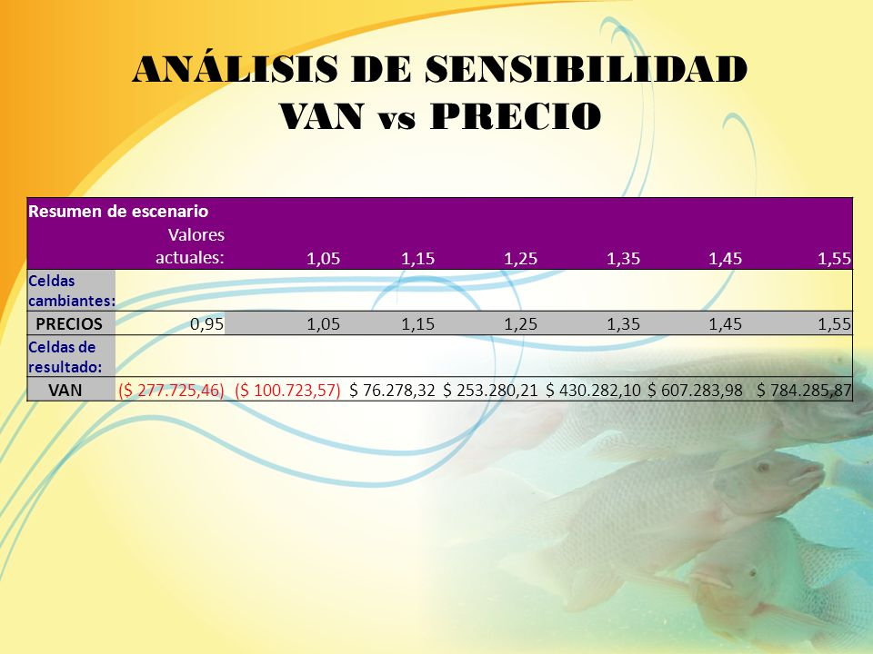 KeVAN 23,0%$ 298.584,12 24,0%$ 280.759,31 25,67%$ 253.280,21 26,0%$ 248.092,11 27,0%$ 233.110,94 ANÁLISIS DE SENSIBILIDAD VAN vs TMAR