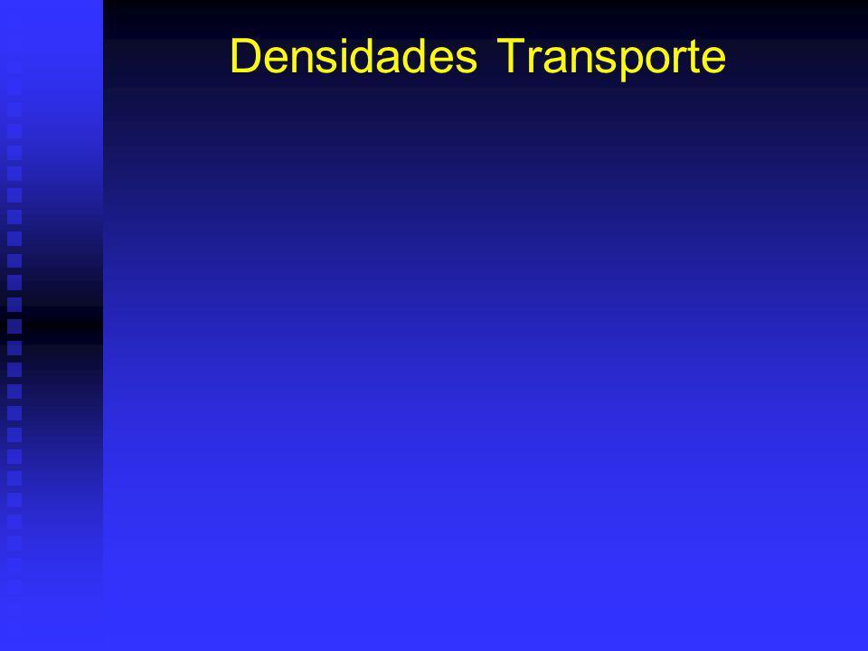 Densidades Transporte