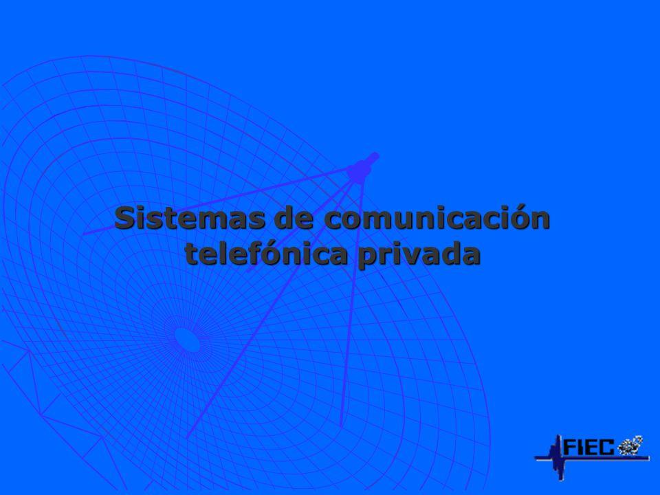 Sistemas de comunicación telefónica privada