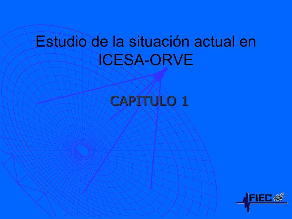 Estudio de la situación actual en ICESA-ORVE CAPITULO 1