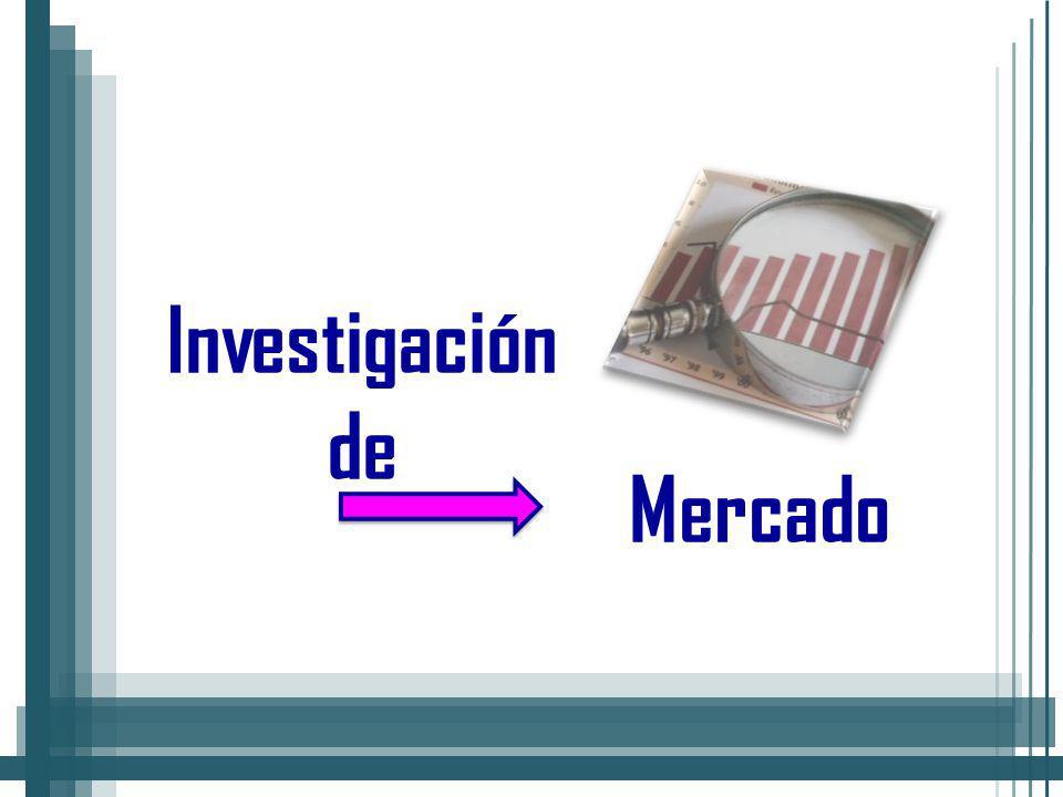 Mercado Investigación de