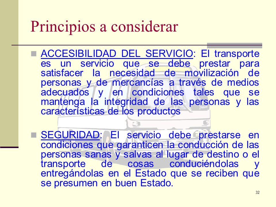 31 Principios a considerar LIBRE DESARROLLO EMPRESARIAL: Esta actividad económica se basará en la libre competencia y la iniciativa privada bajo los p