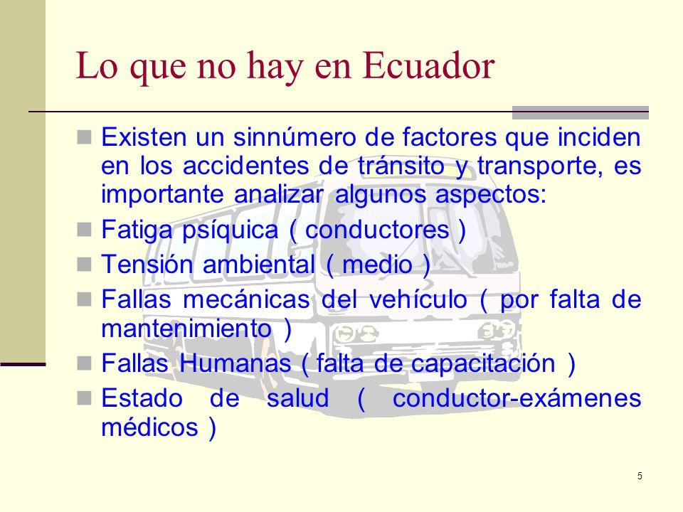 4 El transporte en el Ecuador... En el Ecuador el sector del transporte rural ha estado tradicionalmente descuidado, mostrando importantes déficit que