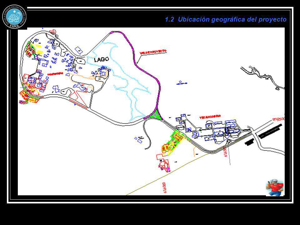 1.2 Ubicación geográfica del proyecto