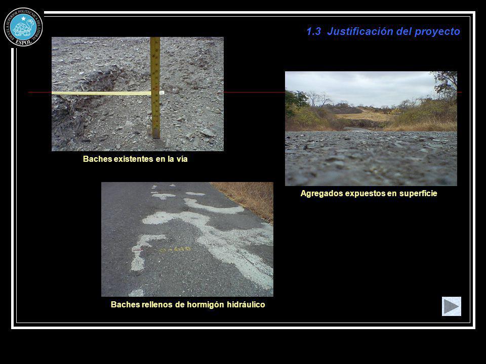 2.3.6 Estado del Pavimento Reducción del ancho de la calzada Fisura transversal