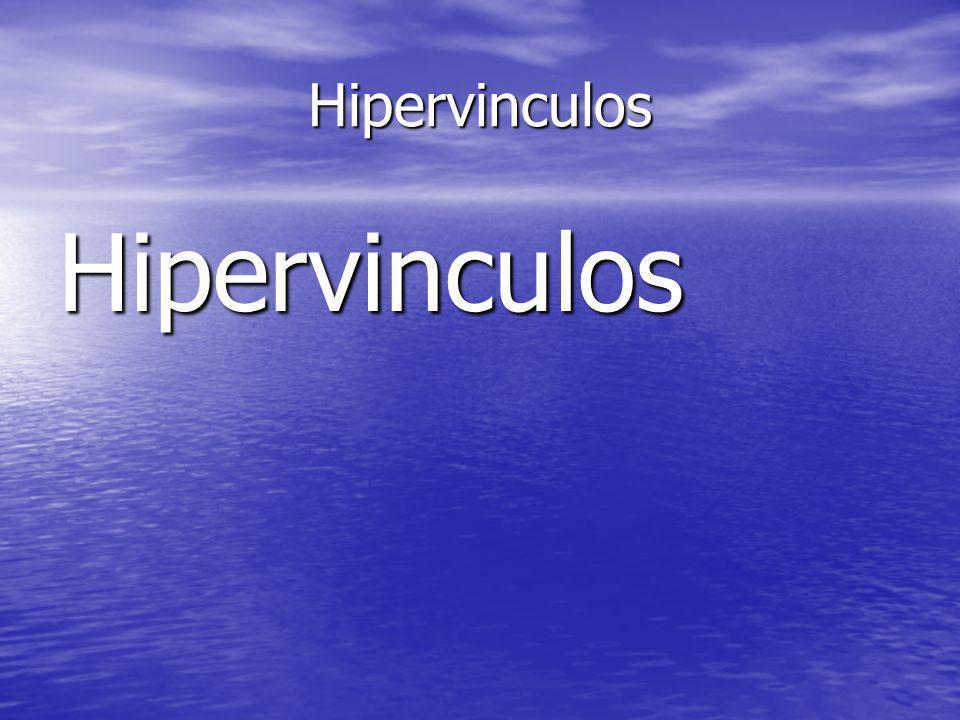 Hipervinculos Hipervinculos