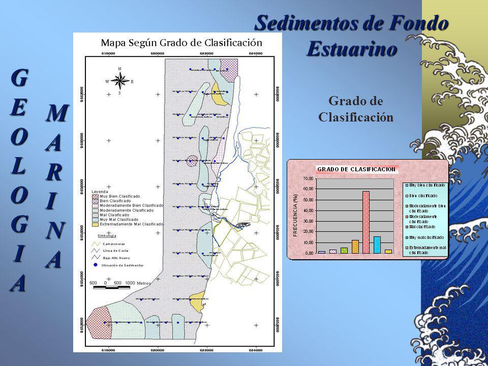 Sedimentos de Fondo Estuarino GEOLOGIA MARINA Textura