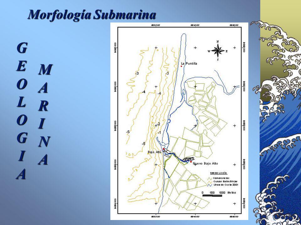 GEOLOGÍA MARINA Se tomaron cinco muestras de sedimentos de playa con las cuales se hicieron láminas delgadas. Mineralogía Según la clasifiación de McB