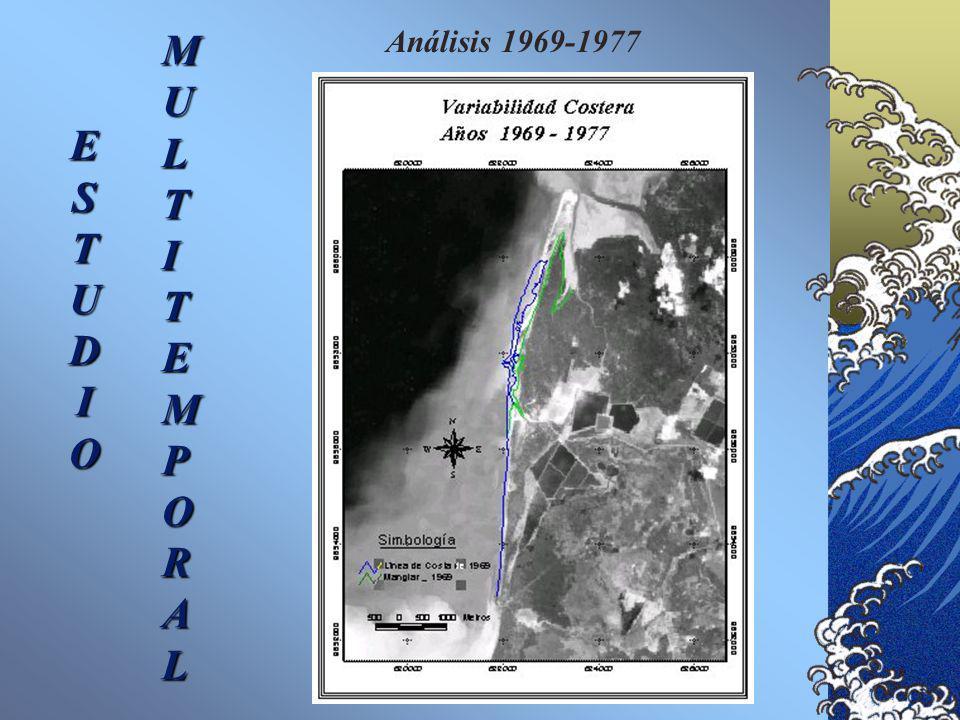 Análisis 1961-1969 ESTUDIO MULTITEMPORAL
