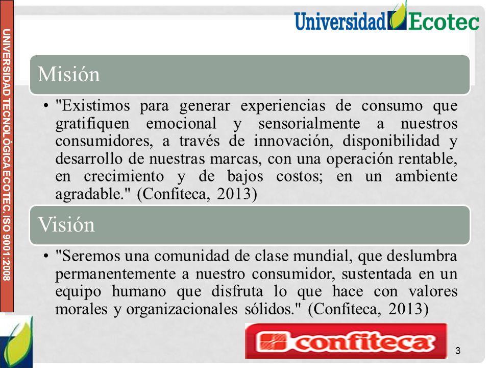 UNIVERSIDAD TECNOLÓGICA ECOTEC. ISO 9001:2008 Misión