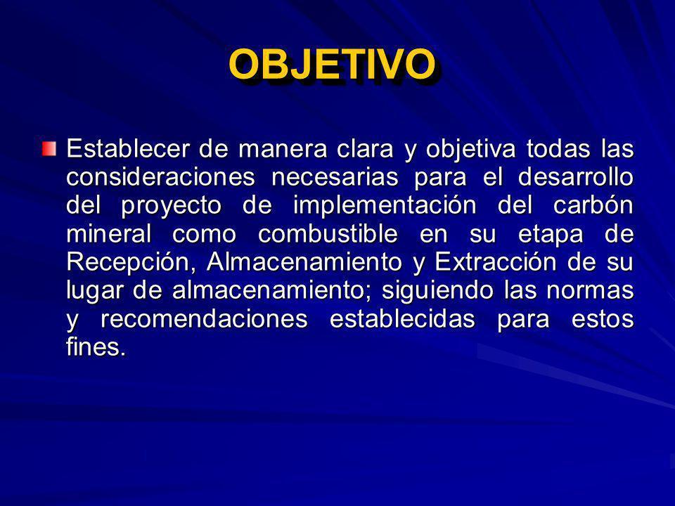 NAVE PARA ALMACENAMIENTO Dimensiones (Pila de carbón y equipos).