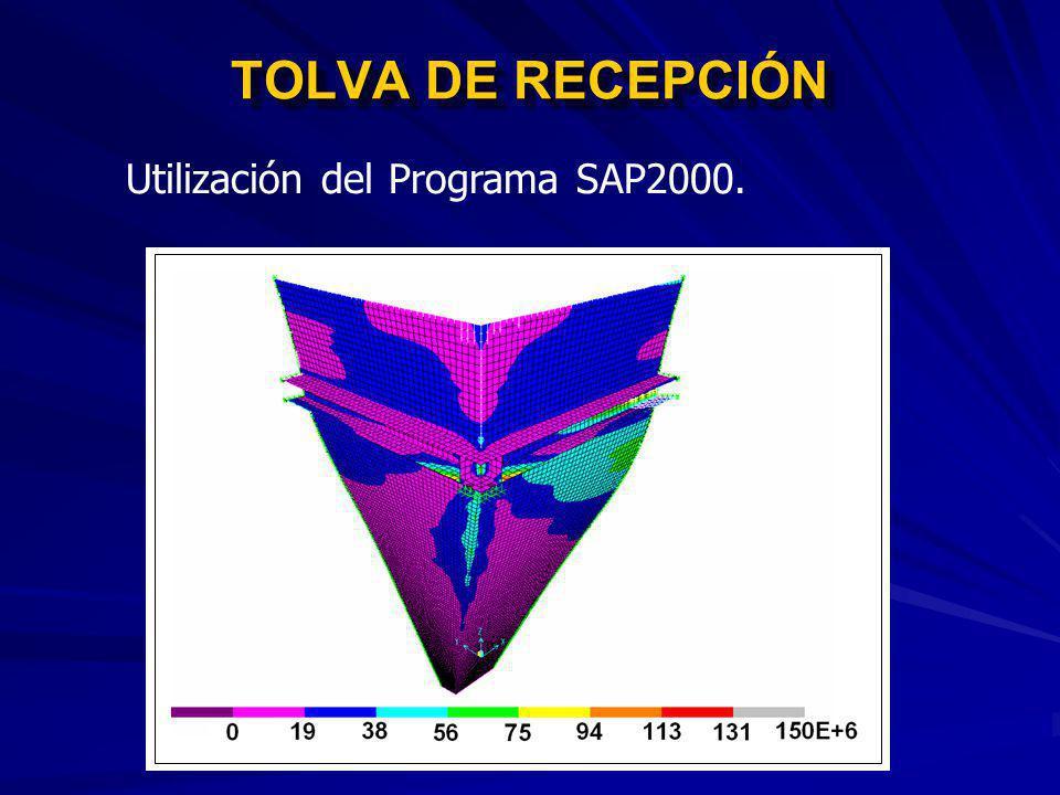 TOLVA DE RECEPCIÓN