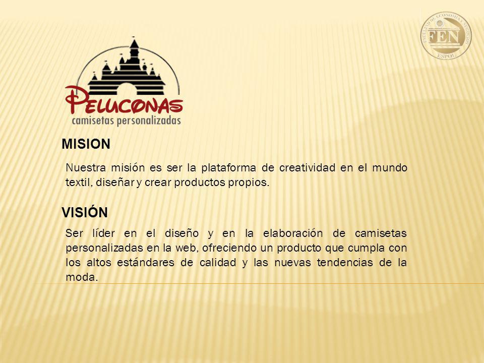 Nuestra misión es ser la plataforma de creatividad en el mundo textil, diseñar y crear productos propios.
