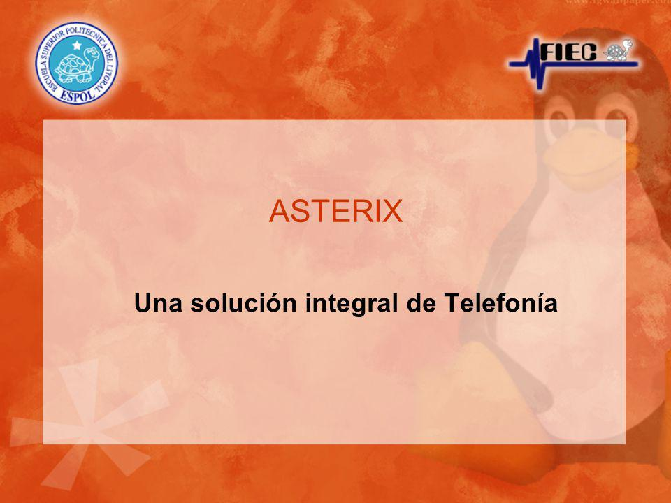 Una solución integral de Telefonía ASTERIX