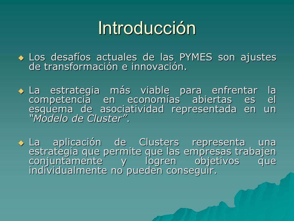 Introducción Los desafíos actuales de las PYMES son ajustes de transformación e innovación. Los desafíos actuales de las PYMES son ajustes de transfor