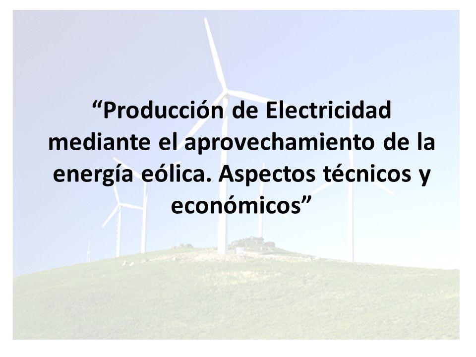GENERALIDADES SOBRE LA ENERGÍA EÓLICA La Energía eólica es la energía cinética que se genera por efecto de los movimientos de la masa de aire en la atmósfera las cuales se desplazan de áreas de alta presión atmosférica hacia áreas adyacentes de baja presión, con velocidades proporcionales al gradiente de presión.
