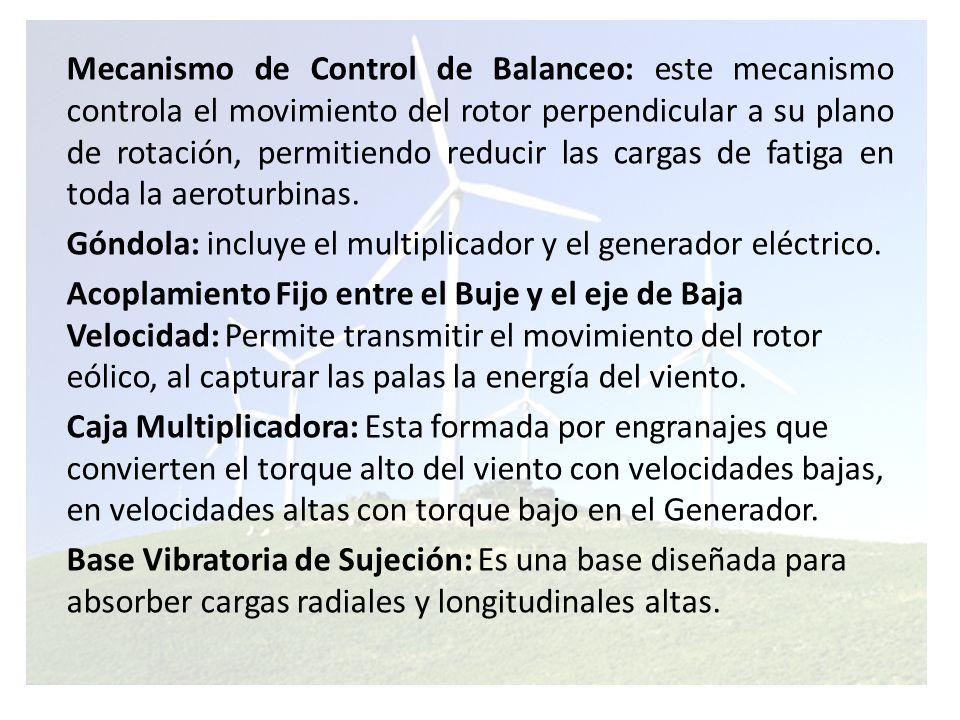 Acoplamiento Flexible: Acopla el eje de salida de la caja multiplicadora con el eje de alta velocidad del generador.