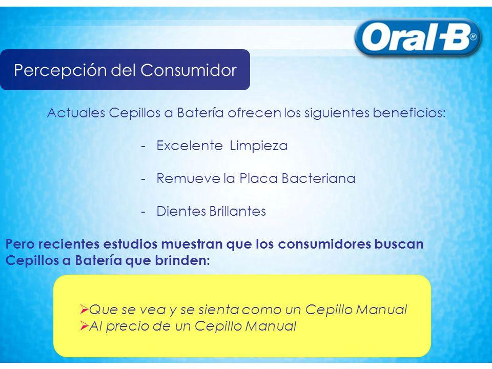 Actuales Cepillos a Batería ofrecen los siguientes beneficios: - Excelente Limpieza - Remueve la Placa Bacteriana - Dientes Brillantes Pero recientes
