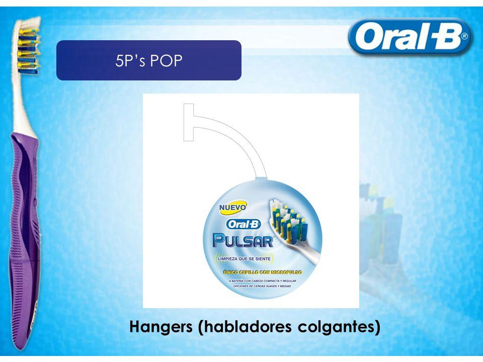 Hangers (habladores colgantes) 5Ps POP
