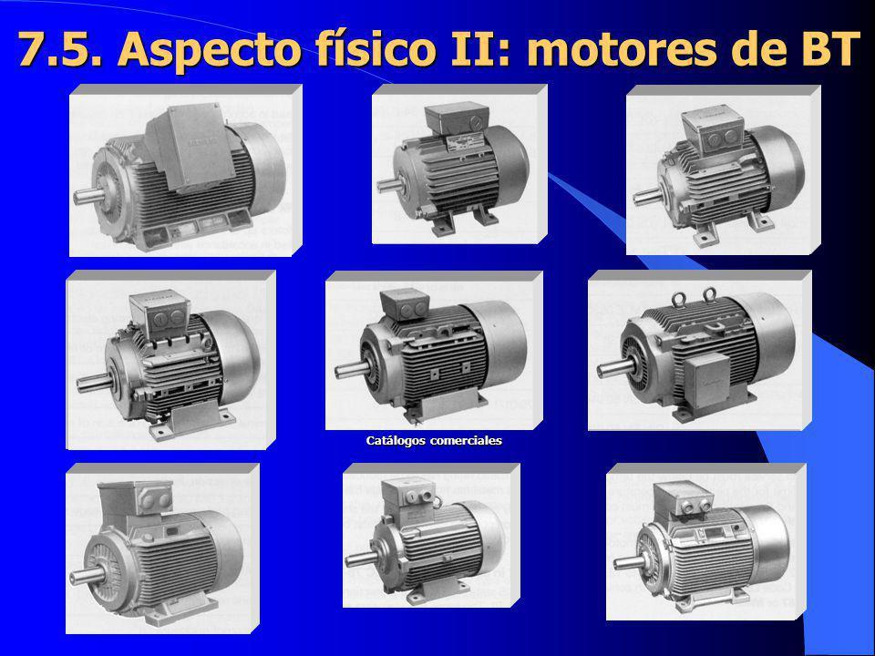 7.5. Aspecto físico II: motores de BT Catálogos comerciales