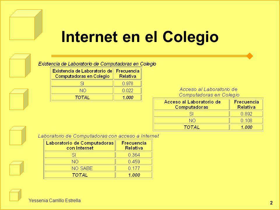 Yessenia Carrillo Estrella 2 Internet en el Colegio