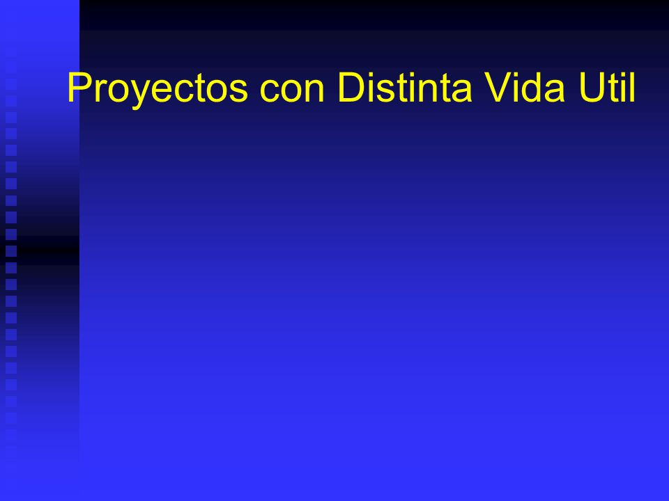 Tiempo de Analisis de Proyecto