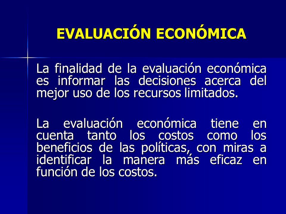 METODOLOGÍA PARA LA EVALUACIÓN Para realizar la evaluación económica del proceso de contratación de medidores se ha utilizado la metodología de la rel