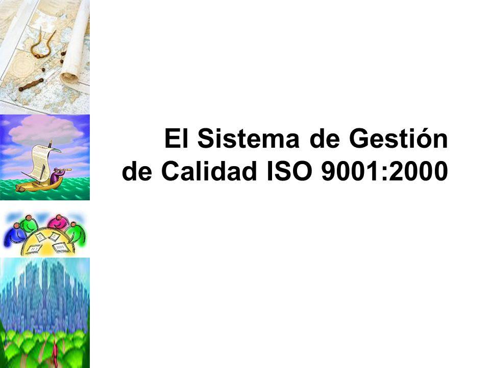 El Sistema de Gestión de Calidad ISO 9001:2000