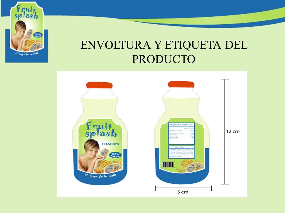 ENVOLTURA Y ETIQUETA DEL PRODUCTO
